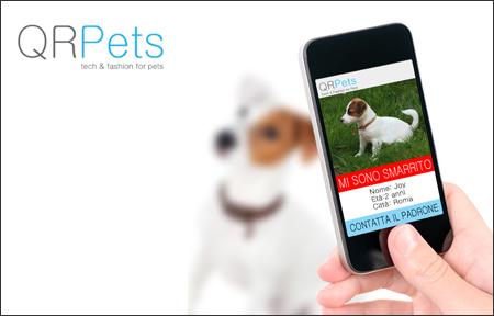 Il profilo web è gratuito e potete essere contattati da chiunque possieda uno smartphone oppure scegliere di essere contattati in forma anonima attraverso il sito di QRPets.