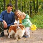 I cani aiutano i bimbi ad essere più sani