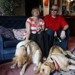 Due cani guida ed una grande storia d'amore
