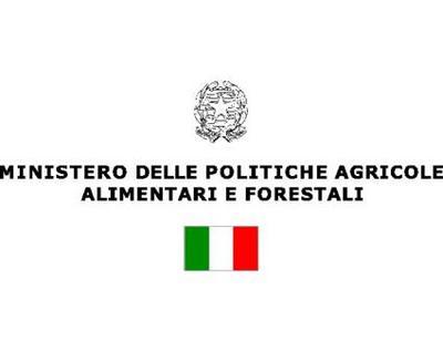 Patrocinio Ministero delle Politiche Agricole Alimentari e Forestali