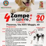 4 Zampe in Azione a Piacenza – Domenica 20 Settembre 2015