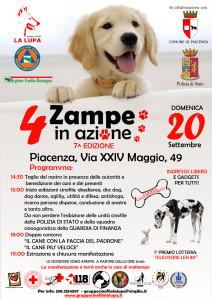 4 Zampe in Azione - Piacenza